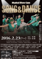 Musical show case SONG&DANCE